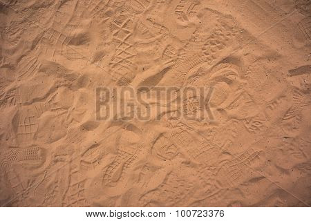 Traffic In The Sand