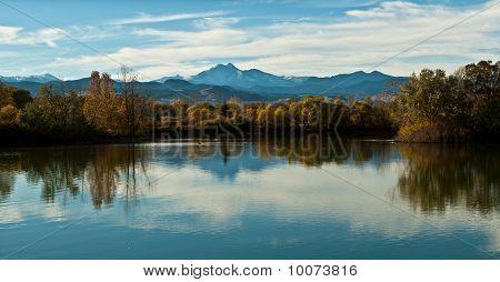 Golden Ponds and Longs Peak