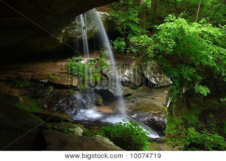 Waterfall In Northern Alabama