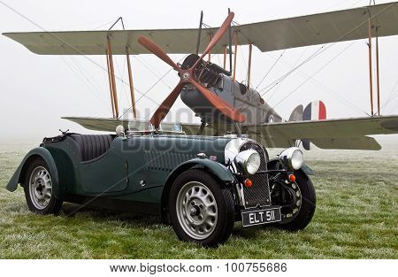 Biplane and Morgan