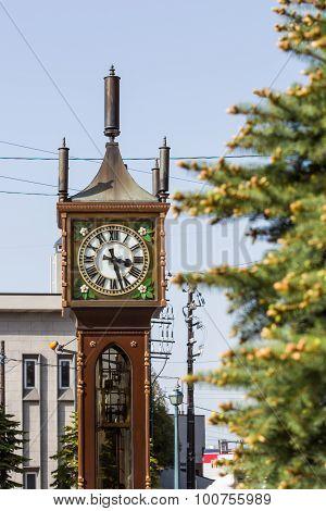 Otaru Steam Clock Tower