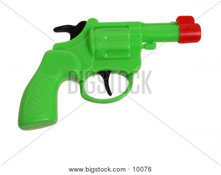 Plastic Green Gun