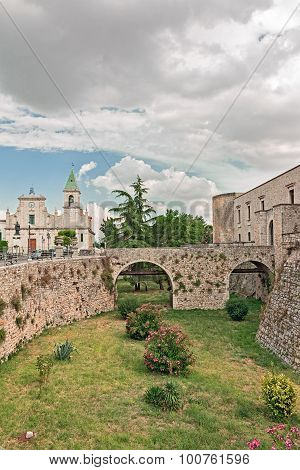 Bridge of castle aragonese