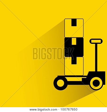 shipping trolley