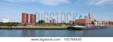 View On The Center Of Rotterdam, The Netherlands