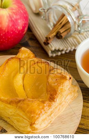 Snack For Tea Background / Snack For Tea / Homemade Snack For Tea Background