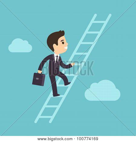 Climbing Corporate Ladder