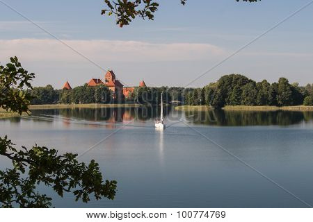 Lake of Trakai.