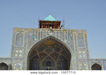 Imam Mosque, Most important Mosque in Esfahan, Iran poster
