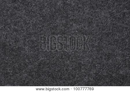 Black felt cloth as background