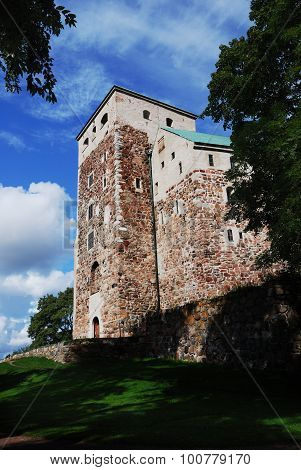 Medieval Castle In Turku, Finland