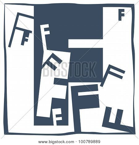 Initial Letter F