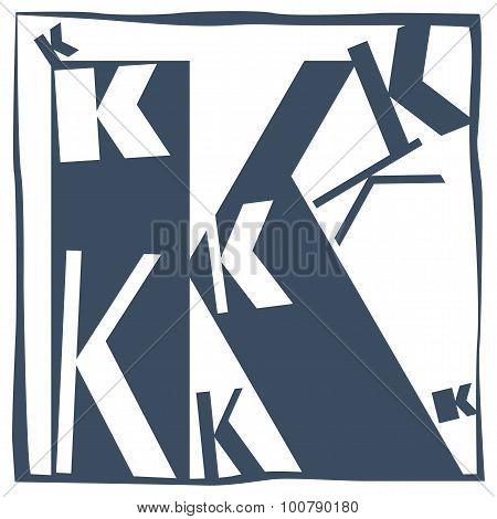 Initial Letter K