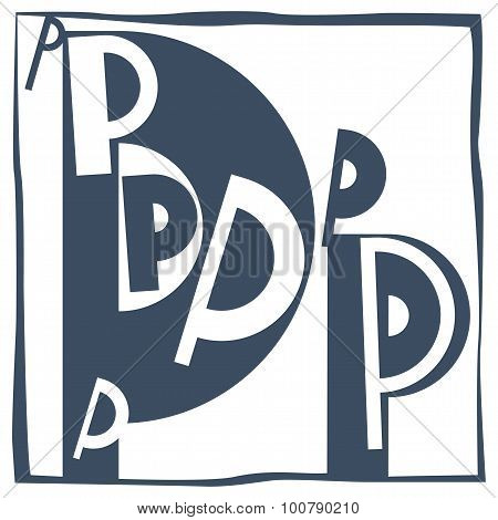 Initial Letter P