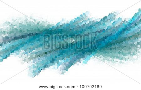 Abstract Background With Blue, Green And Purple.