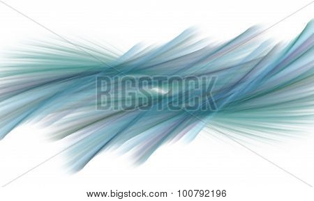 Abstract Background With Blue, Green And Purple Lines.