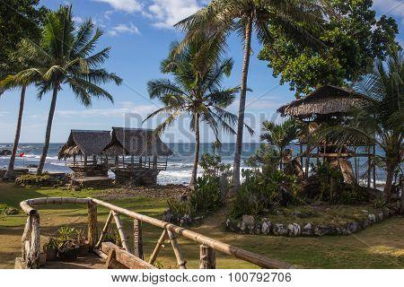 Vintage beach background