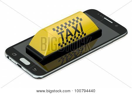 Taxi Service Concept
