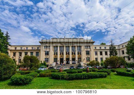 Bucharest, Romania - June 28: The Law School University On June 28, 2015 In Bucharest, Romania. The