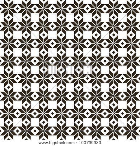 Belorussian Sacred Ethnic Ornament, Seamless Pattern. Vector Illustration. Slovenian Traditional Pat