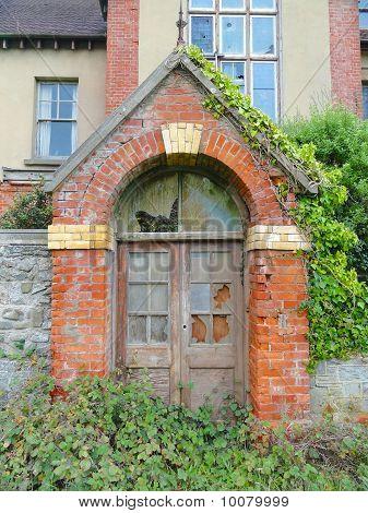 Creepy Building Entrance