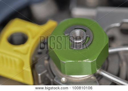 Injection Port Of Gas Chromatograph