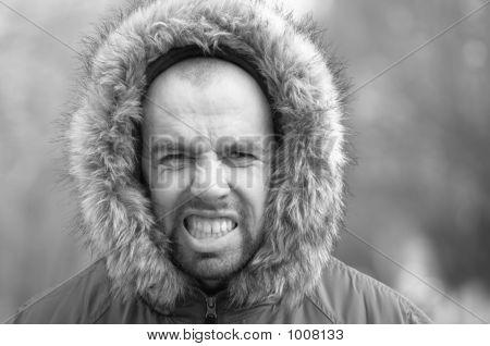 Agressive Man