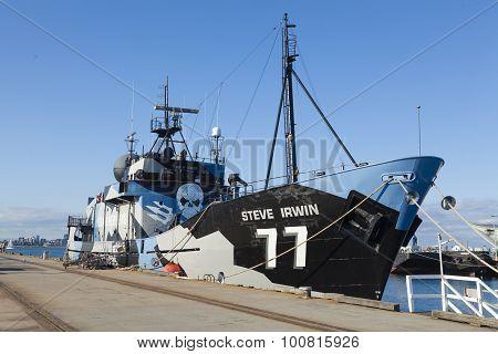 Sea Shephered anti-whaling ship