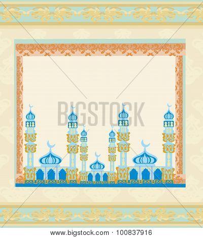 Ramadan Kareem Festival Frame