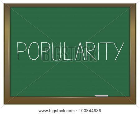 Popularity Concept.