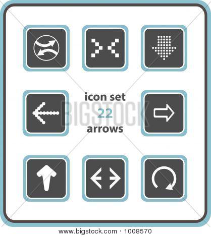 Vector Icon Set 22: Arrows