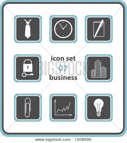 Vector Icon Set 07: Business