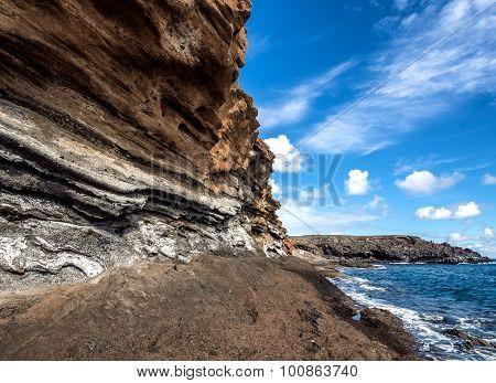 Montana Amarilla In Costa Del Silencio. Tenerife
