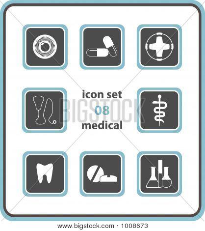 Vector Icon Set 08: Medical