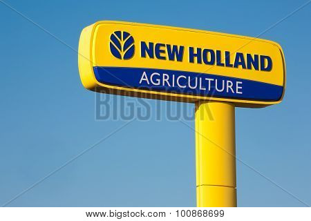 New Holland Agriculture Sign
