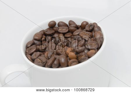 Coffee Beans Cup Isolated