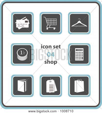 Vector Icon Set 04: Shop