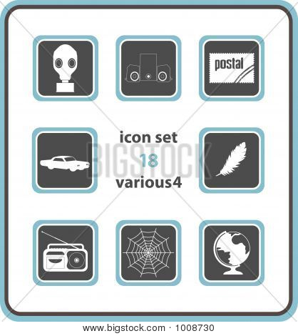 Vector Icon Set 18: Various4