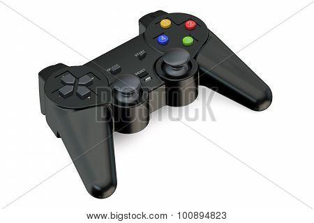 Black Gamepad Closeup