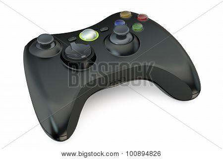 Black Gamepad