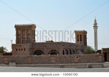 Old Fort In Ras Al Khaimah. United Arab Emirates