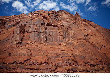 Sandstone Cliffs -  Glen Canyon, Arizona