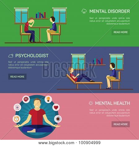 Mental disorder psychological treatment