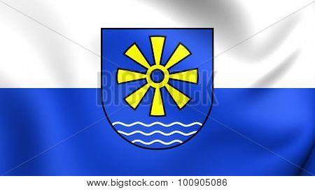 Flag Of Bodenseekreis, Germany.
