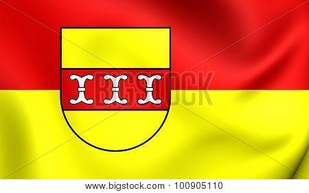 Flag Of Borken Kreis, Germany.