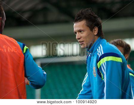 Yevhen Konoplyanka - Ukrainian National Soccer Team Player