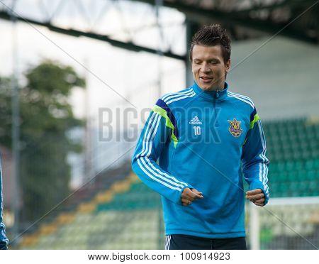 Yevhen Konoplyanka - Ukrainian National Soccer Team Player  2