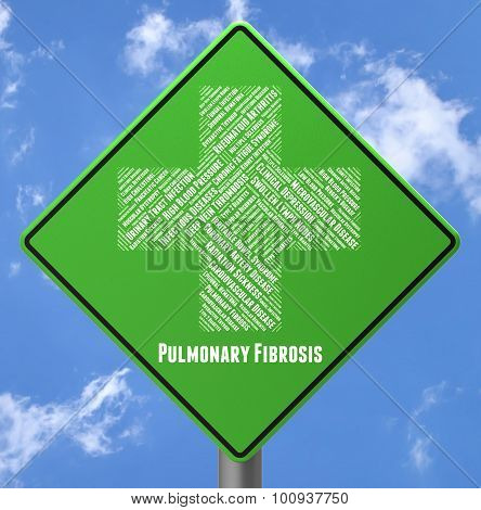 Pulmonary Fibrosis Represents Ill Health And Advertisement