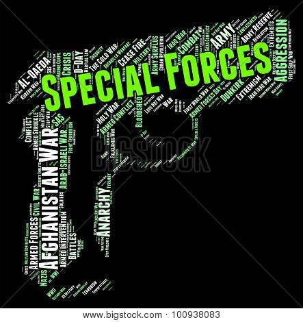 Special Forces Shows High Value And Direct