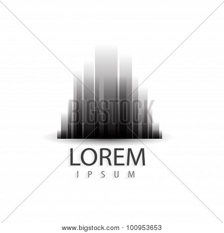Creative Architecture City Logo Design. Trendy Business Concept. Vector Logotype For Your Company.